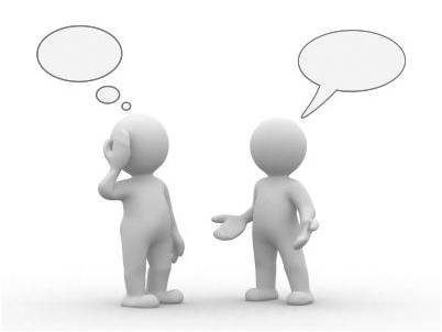 gedachtes en praten